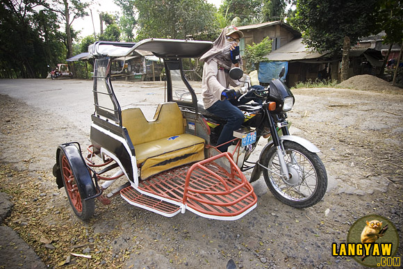 A rather unusual tricycle in Passi