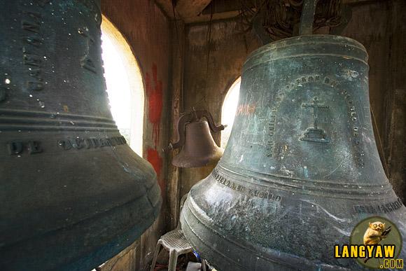 The antique bells of Passi Church
