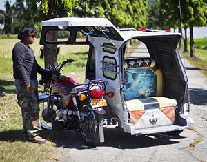 Riding Antique's bold tricycles • langyaw