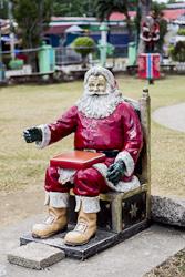 Another Santa sculpture