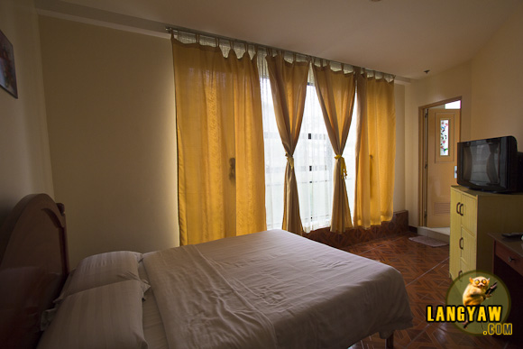 A hotel room in Baguio City which was home in the weeks I was there for work and consoling a weeping heart