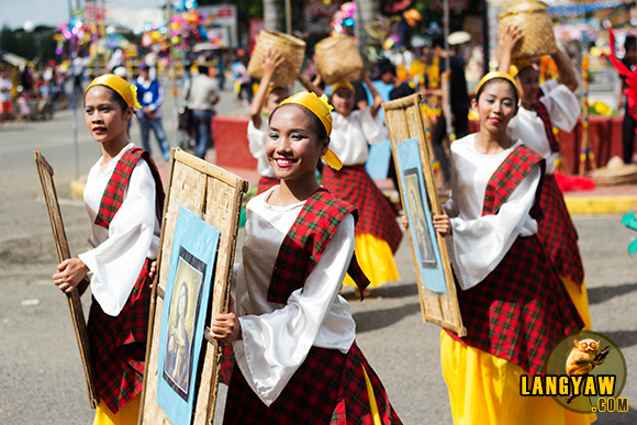 Dancers during Capiz's Sinadya Festival