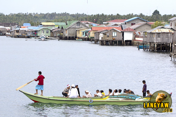 Crossing the channel from Isabela City to Malamawi Island, Basilan