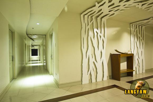 Corridor design of hotel