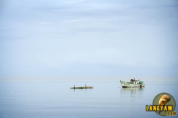 Early morning boats in Danao City, Cebu