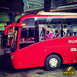 The bus from Agora bus terminal in Cagayan de Oro