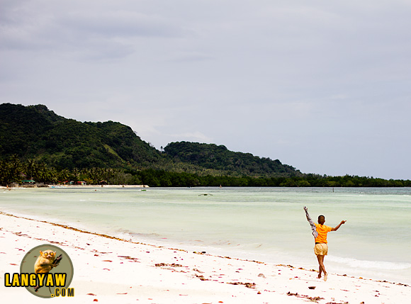 Quinale Beach in Anda, Bohol