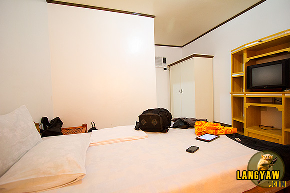 A look inside the P1,500 room