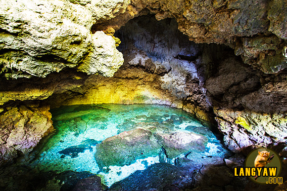 The beautiful Combento Cave Pool