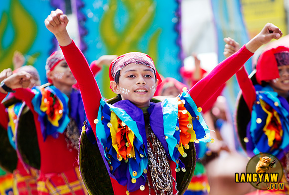 A dancer during the Sibugsay Festival