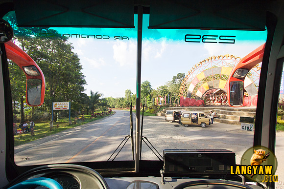 I like hopping on a bus and travel far. Enroute to Cagayan de Oro from Malaybalay and passing the Kaamulan landmark in Impasug-ong
