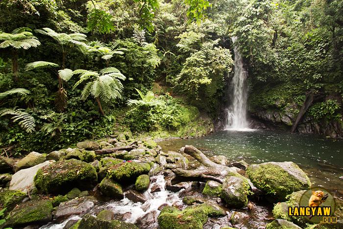 Scenic view of Malabsay Falls in Panicuason, Naga City