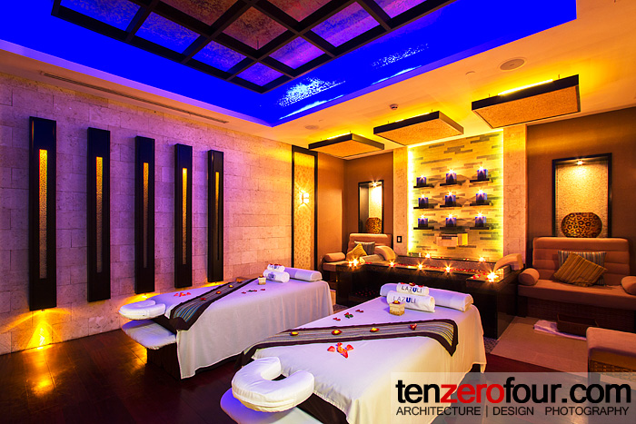 The couple's room of Lazuli Spa, Marco Polo Davao's well recognized spa