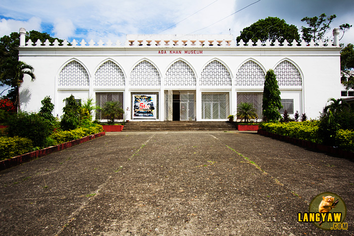 The beautiful facade of the Aga Khan Museum