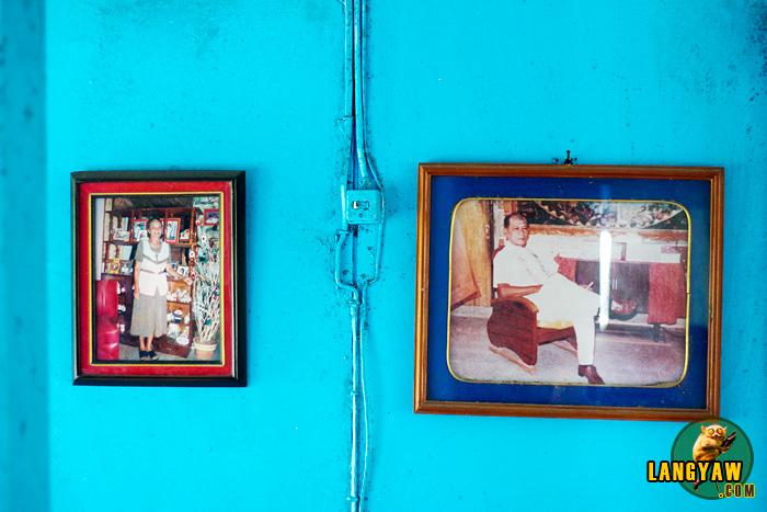 Photo of the couple who built the barko-barko