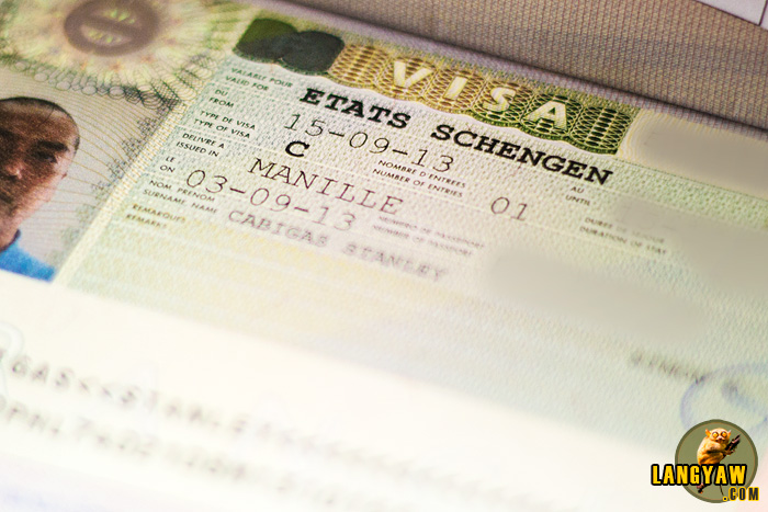 My Schengen Visa as approved this week