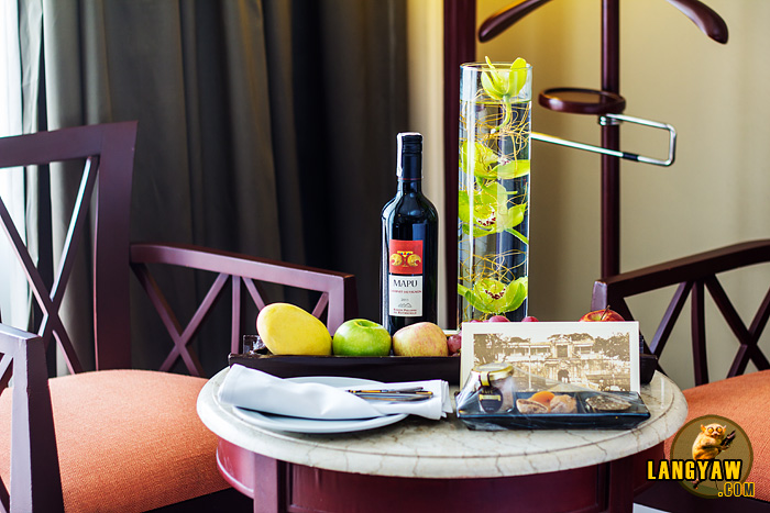 At Sofitel's Luxury Room Club Millésime, be prepared to be surprised. Even welcomes are unexpectedly great!