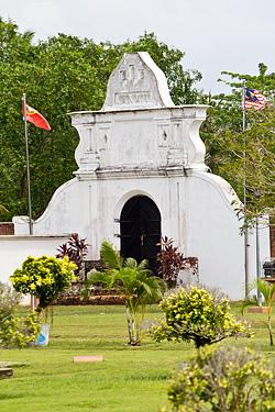 Fort gate of Kuala Kedah Fort