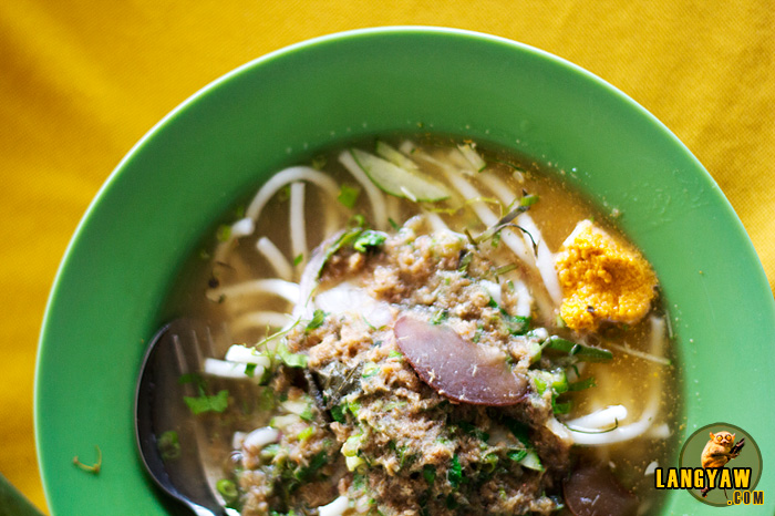 Zakaria's laksa teluk kechai is a popular variety of laksa from the northern Malaysian state