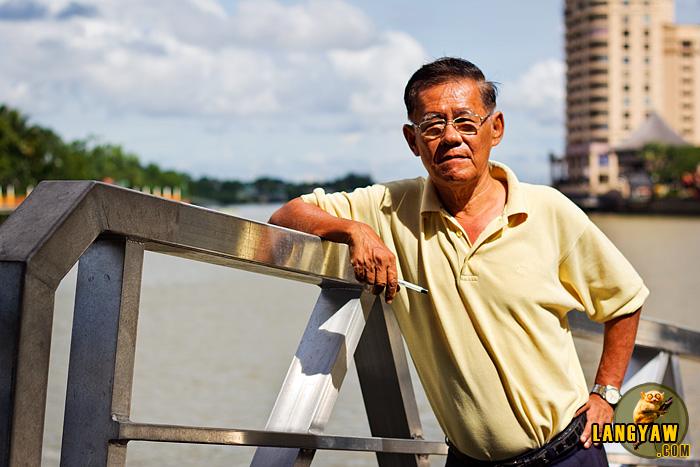 Richard Yeo Ming Hui, freelance tourist guide in Kuching