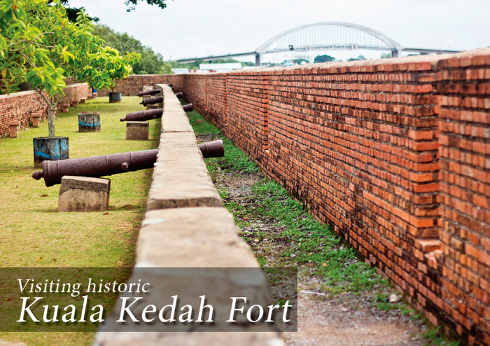 A sample page spread featuring the Kota Kuala Kedah