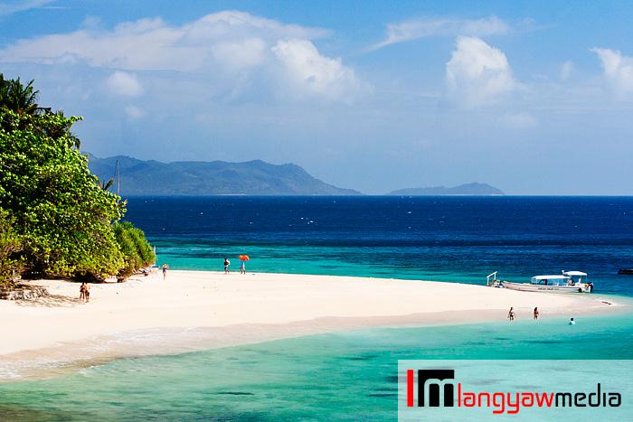 Flower Island beach