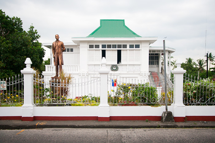 Just one of the many ancestral houses in the town of Taal, Batangas