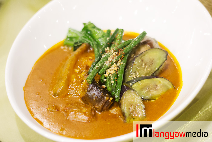 Kare kare is nutty with the meat, oh, so tender