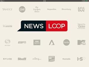 Singtel's Newsloop app