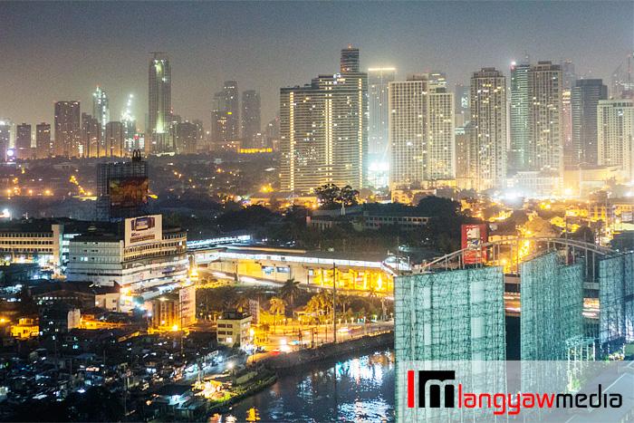 Beautiful city view at night!