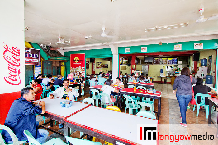 Bona's Chaolong is teeming with diners during a wet afternoon