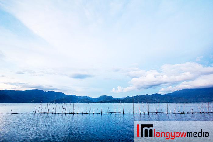 Before sunrise, glorious view of Lake Buhi in Camarines Sur