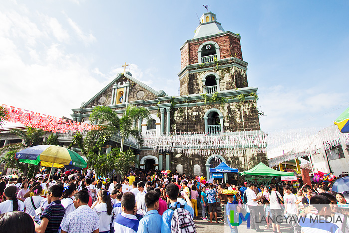 The old Spanish era built church of Bocaue