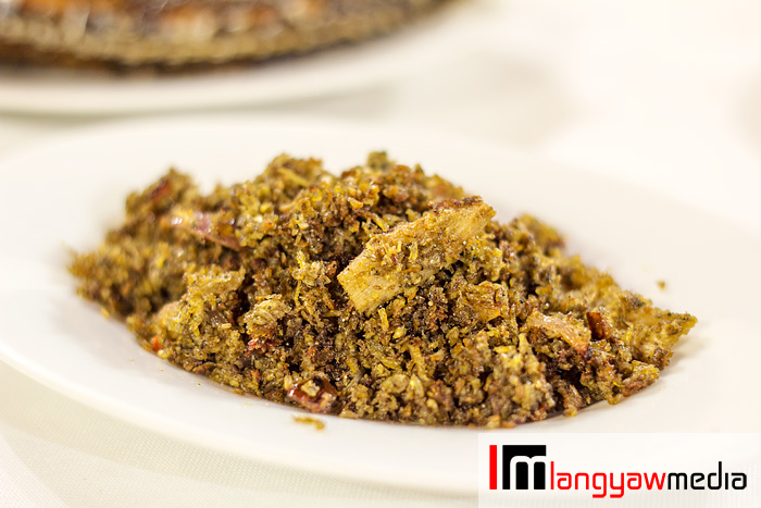 Ginisang sinarapan (sauteed sinarapan) - well flavored, and goes well with hot rice