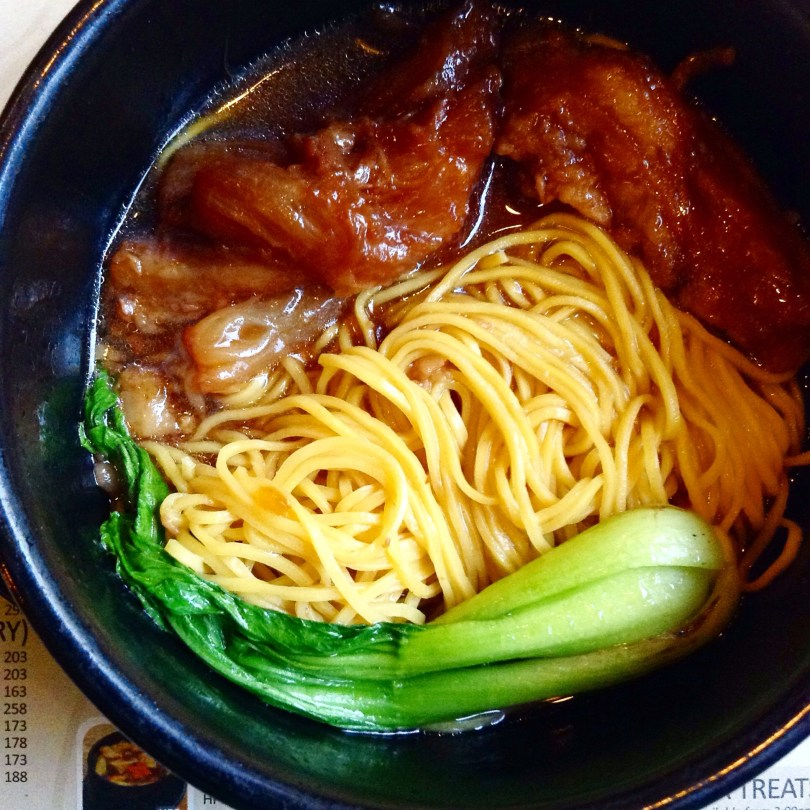 Aniseed beef tondon noodle