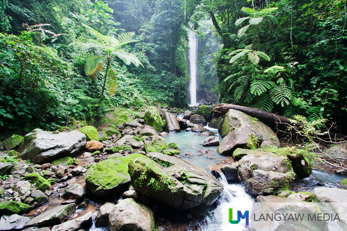 Beautiful Casaroro Falls in Valencia, Negros Oriental