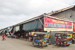 Exterior of the Canelar barter trade