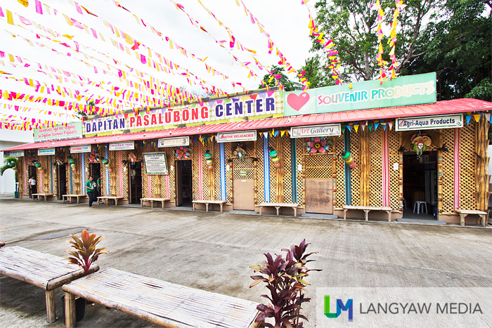 The Dapitan Pasalubong Center where you can find different kinds of products that you can buy