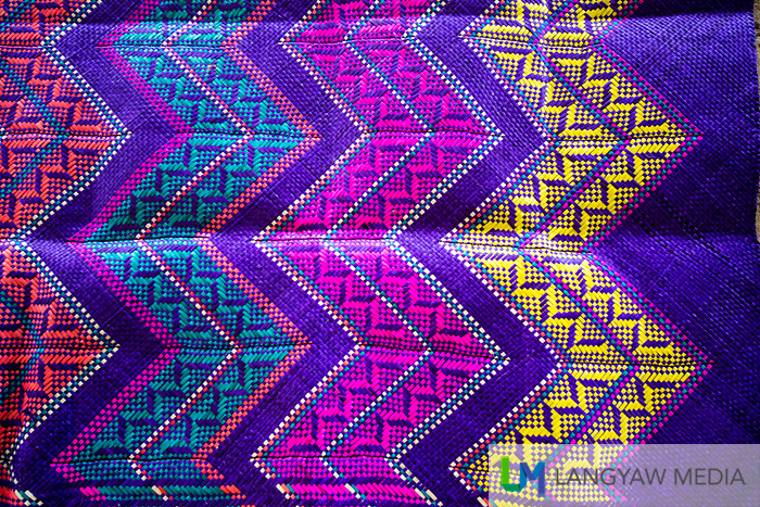 A beautifully and intricately crafted tepo mat