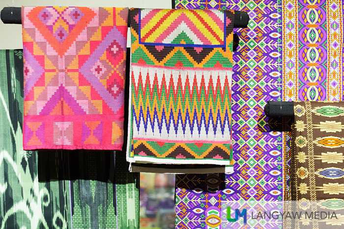 Different textiles of different tribes in Mindanao
