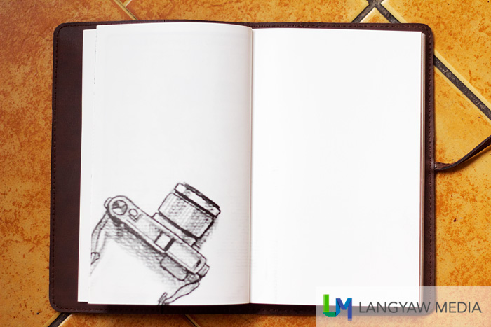 Lots of blank pages for you to doodle or write!