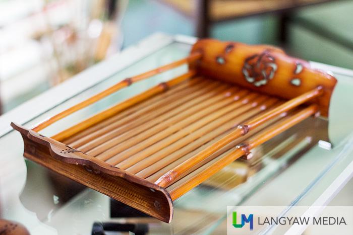 Beautiful bamboo tray