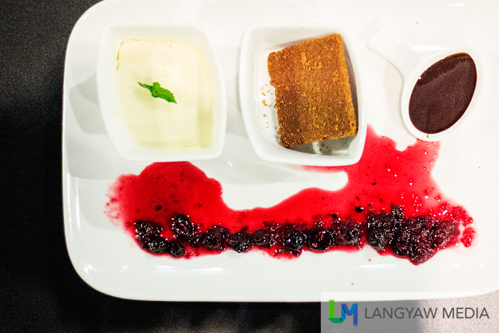 Eli's Cheesecake, a 'deconstructed' New York cheesecake is one of the best I've tasted