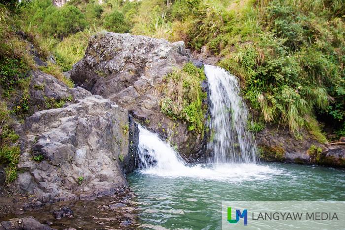 Two cascades of Bokong Falls