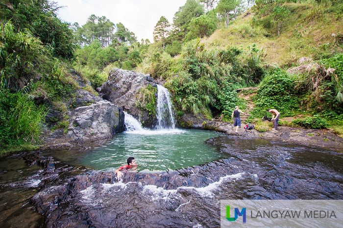 Visitors find Bokong Falls an easier trek than the other waterfalls in the area
