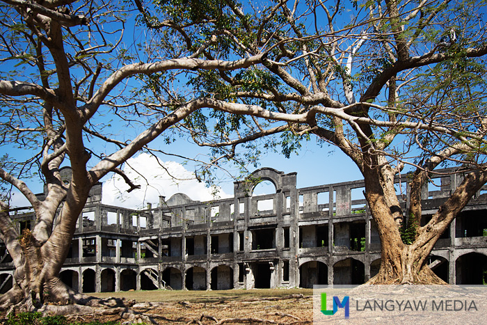 Mile Long Barracks ruins, the iconic image of Corregidor