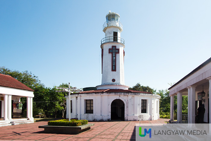 A renovated spanish colonial era lighthouse, its a popular destination in Corregidor.
