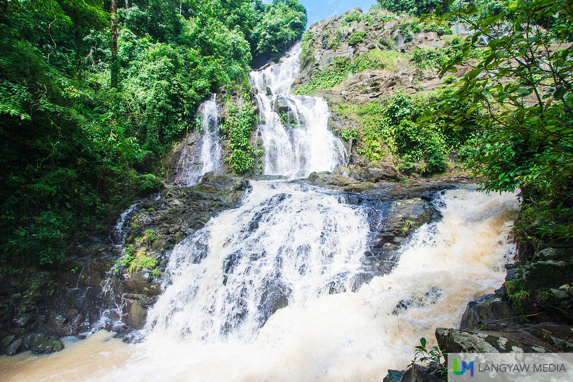 Stunning multi-level Ditoray Falls in Pagadian!