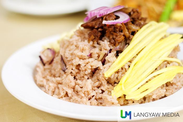 Bagoong fried rice