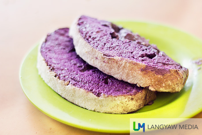 Soft and sweet with real ube goodness!